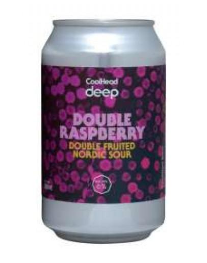 12 Birra Coolhead Double Raspberry Lattina 0,33 l