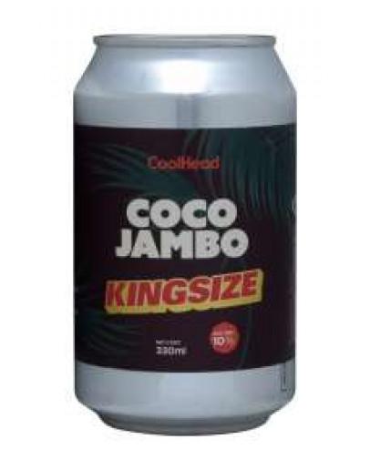 12 Birra Coolhead King Size Coco Jambo Milk Stout Lattina 0,33 l