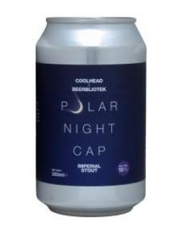 12 Birra Coolhead Polar Nightcap Lattina 0,33 l