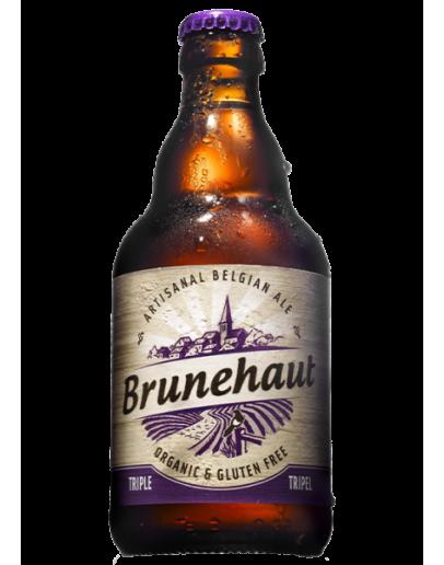 12 Birra  Brunehaut Triple Biologique Glutem Free 0.33 cl