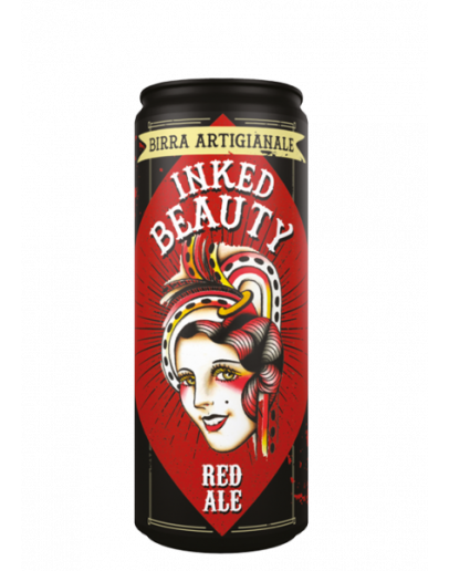 24 Birra Inked Beauty Rossa Lattina 33 cl