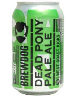 24 Birra Brewdog Dead Pony Lattina 0,33 l