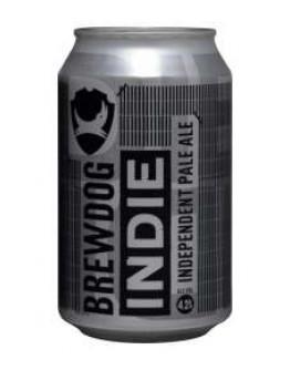 24 Birra Brewdog Indie Pale Ale Lattina 0,33 l