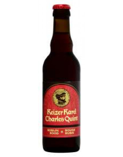 24 Birra Charles Quint Rossa 0,33 l