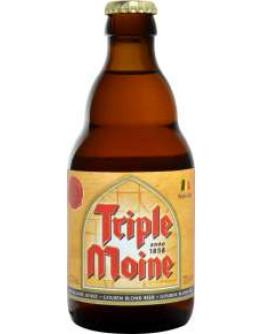 24 Birra Triple Moine 0,33 l