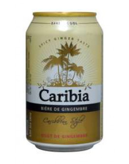 24 Caribia Ginger Beer Lattine 0,33 l