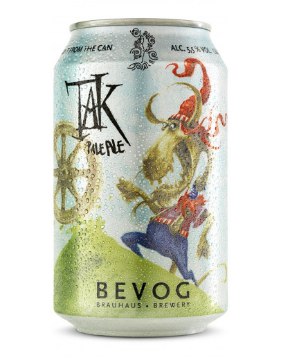 24 Birra Bevog Tak Pale Ale Lattina