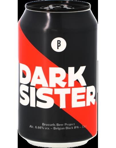 12 Birra Beer Project Project Darck Sister Black Ipa Lattina