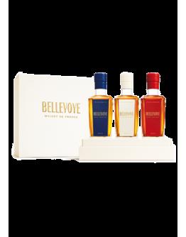 Bellevoye  Whisky Cofanetto 3 Bott x 20 cl