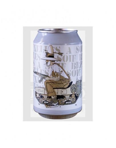 12 Birra Ermitage Bruxelles a Soif Dipa Lattina 0,33 l