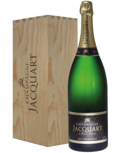 Jacquart Champagne Brut Mosaique Jeroboam-c. legno 3 L