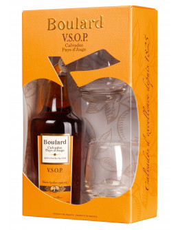 Boulard  V.S.O.P+ 2 Bicchieri gift box