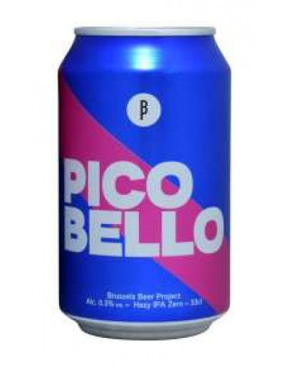 12 Birra Beer Project Pico Bello Hazy Ipa Analcolica Lattina
