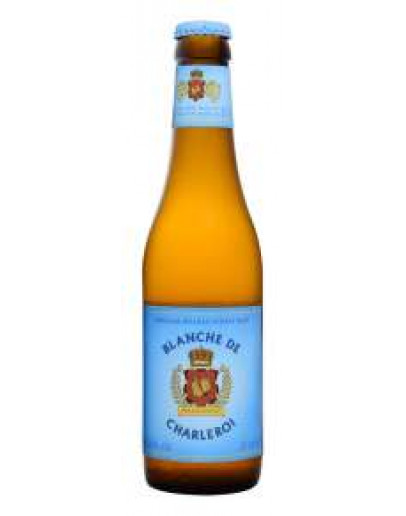 12 Birra Abbaye D' AulneBlanche De Charleroi Bio