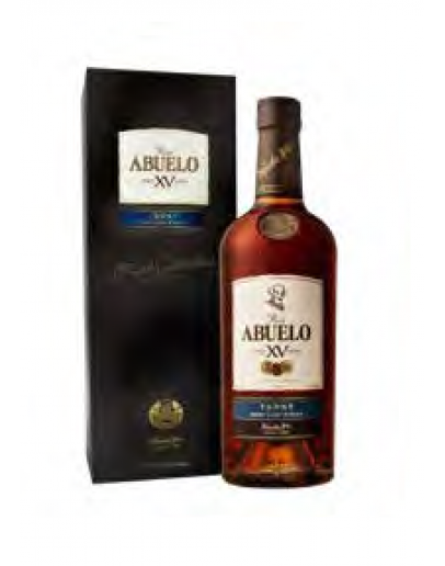 Abuelo XV Finish Collection Tawny - mit dem Koffer
