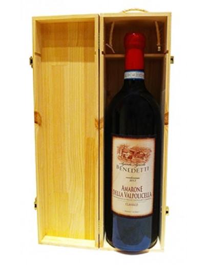 Amarone della Valpolicella Classico doc 2013 3 l In wooden case