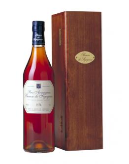 Bas Armagnac Baron de Sigognac 1986 in wooden crate5