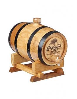 Vodka Debowa wooden barrel 2 l