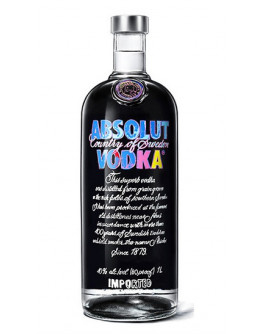 Vodka Absolut Andy Warhol Limited Edition 1 l