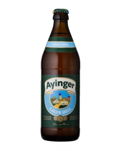 20 Birra Ayinger Lager Hell 0,50 l