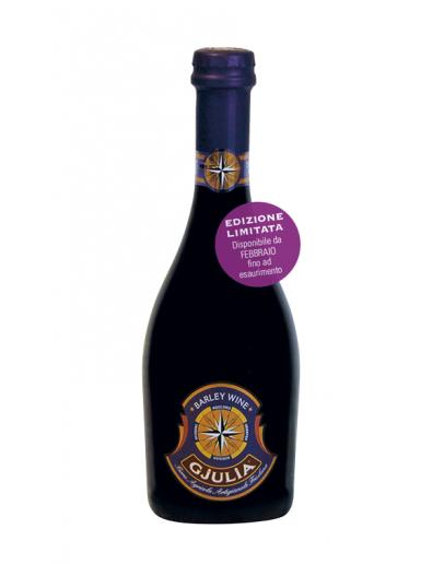 6 Birra Gjulia Barley Wine 0,50 l In wooden case