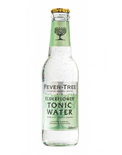 24 Tonic Water Fever Tree Elderflower
