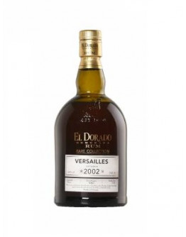 Rum El Dorado Rare Collection Versailles 2002
