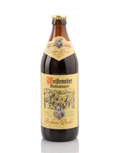 20 Birra Weissenoher Bonifatius Dunkel 0,50 l