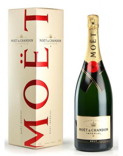 3 Champagne Moet Impèriale Magnum Astucciato