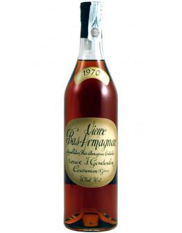 Armagnac Veuve Goudoulin 1970
