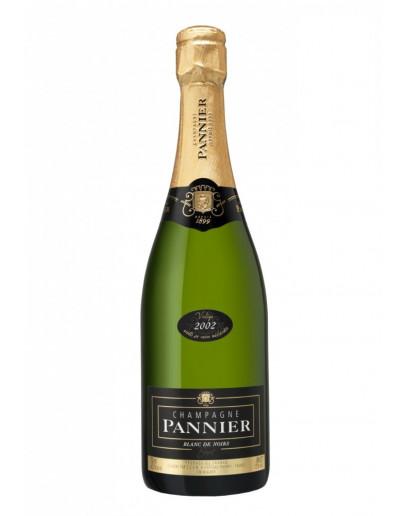 6 Champagne Pannier Blanc de Noirs Brut Millesimato 2012