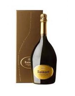 """Champagne """"R"""" de Ruinart Brut Jeroboam caisse bois"""